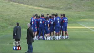 Les Bleus avaient refusé de s'entraîner pour protester contre l'exclusion de Nicolas Anelka, au Mondial en Afrique du Sud, en juin 2010