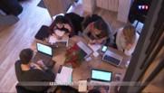 """Des cafés se transforment en """"open-space"""""""