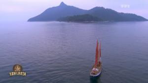 L'arrivée en bateau
