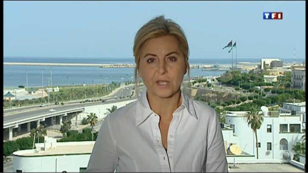 Liseron Boudoul, envoyée spéciale à Tripoli (Libye), en octobre 2011 (archives).