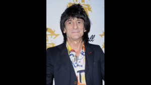 Ronnie Wood des Rolling Stones en novembre 2009