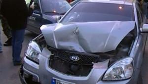 TF1/LCI : La voiture de Pierre Gemayel après l'attentat qui a coûté la vie au ministre libanais de l'Industrie