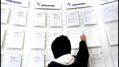 Un chômeur danois dans un Job Center à Copenhague.
