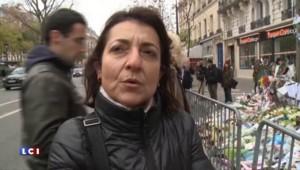 Un mois après les attentats, un hommage est rendu au Bataclan
