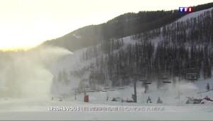 Alpes-Maritimes : l'usine à neige tourne à plein régime