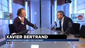 "Bertrand : ""Intolérable que les migrants puissent prendre le train gratuitement"""