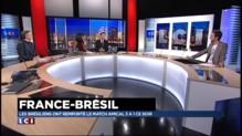 """France-Brésil : """"Benzeymar"""", le visage qui résume un duel d'attaquants"""