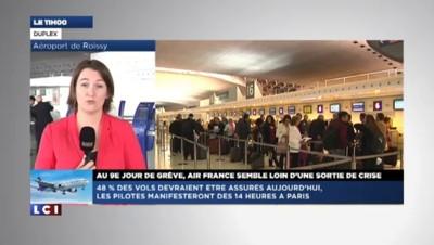 """Grève Air France : """"La direction pourrait céder aux exigences des pilotes"""""""