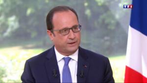 Le 20 heures du 14 juillet 2015 : Crises internationales, sécurité et Grèce au menu de l'interview de François Hollande - 275