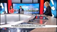 """Marion Maréchal-Le Pen craint une candidature concurrente au FN : """"Je vois les égos monter"""""""