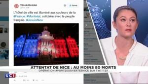 Attentat de Nice : le monde en bleu blanc rouge