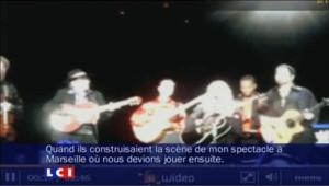 Effondrement de la scène : les sanglots de Madonna