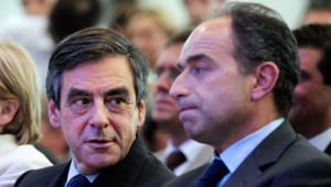 François Fillon et Jean-François Copé, en mai 2012.