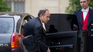 Jean-François Copé à l'Elysée, le 4 juin 2012.