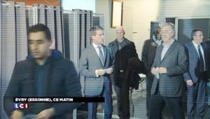 Régionales : Manuel Valls a voté à Évry