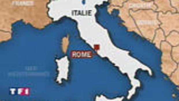 carte italie rome