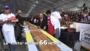 Oeufs, jambon, fromage, saucisses ... Voici le plus grand sandwich du monde