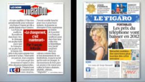 Présidentielle : les journaux impriment leurs différences