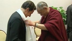 sarkozy dalaï-lama