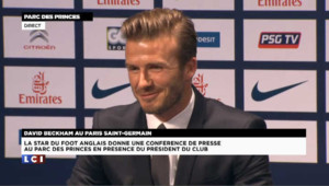 "David Beckham : ""ma famille restera à Londres"""