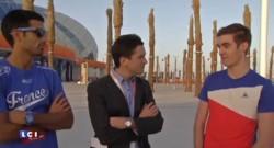 """Handball : autour du stade, """"on a vu que du bleu"""" dit un supporter des Bleus"""