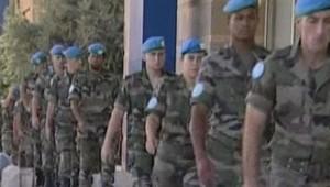 LCI-TF1, des soldats de la Finul le 17 sept 2006