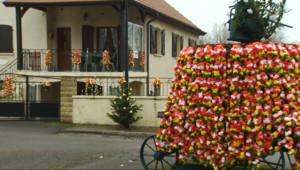Le 13 heures du 23 janvier 2015 : Fêtes de la Saint Vincent : en Bourgogne, il flotte comme un air de carnaval - 1896.371
