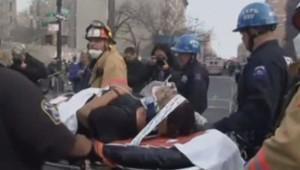 Les secours à New York évacuent les blessés