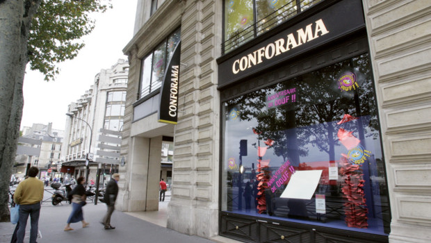 Un magasin Conforama.