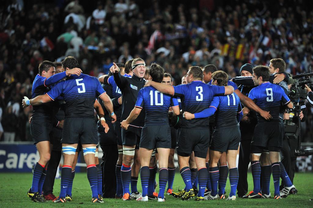 Coupe du monde de rugby la france en finale la - Arbitre finale coupe du monde rugby 2011 ...