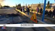 """Blocage de la raffinerie de Fos-sur-Mer: un militant raconte l'intervention """"violente"""" des forces de l'ordre"""