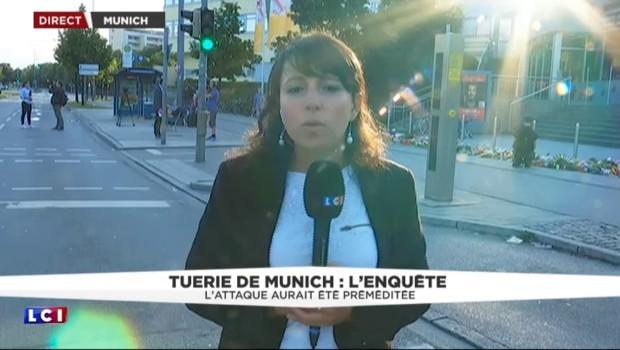 Fusillade à Munich : sur les lieux du drame, les Allemands se recueillent dès les premières lueurs