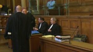 Les avocats d'Yvan Colonna, lors de son procès en appel devant la cour d'assises de Paris