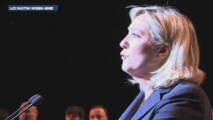 Marine Le Pen à Béziers le 09 mai 2014