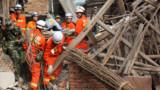 Séisme en Chine : au moins 200 morts et 24 disparus
