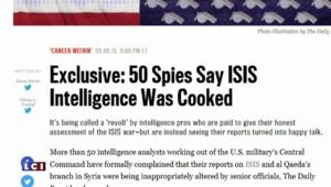 """Daech : Obama accusé de """"travestir"""" le travail des agents de renseignement américains ?"""