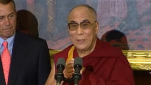 Le dalaï lama à la Maison Blanche le 16 juillet 2011