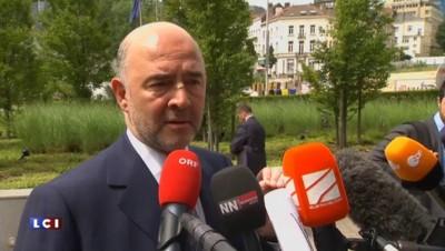 """Pierre Moscovici : """"Le Grexit serait un échec terrible et collectif"""""""