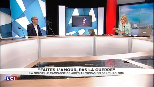 """""""Faites l'amour, pas la guerre"""", la nouvelle campagne contre le Sida de Aides"""