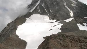 Glacier du massif du Mont Blanc
