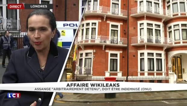 """Imbroglio autour du cas Julian Assange : """"La porte de l'ambassade n'est pas prête de s'ouvrir"""""""