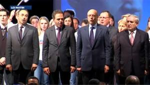 Les ténors de l'UMP réunis avant le second tour de la présidentielle (archives)