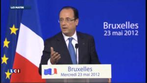 Sommet européen sur la croissance : Hollande réussi à s'imposer