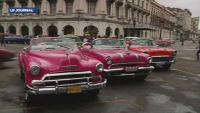 Voitures à Cuba