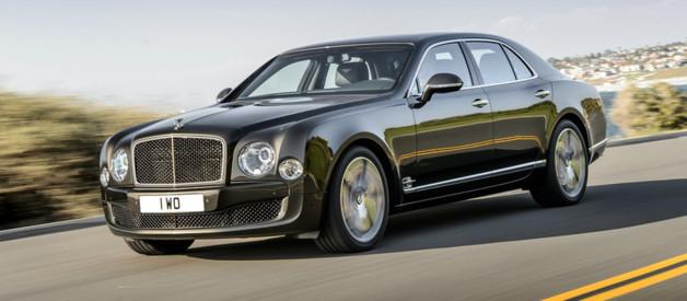 Bentley Mulsanne Speed, modèle au V8 537 ch présenté à Paris au Mondial de l'Automobile et lancé début 2015