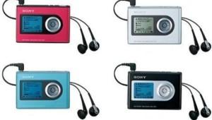 Baladeur MP3 SOny NW-HD3