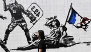 Fresque du street artiste Goin à Grenoble