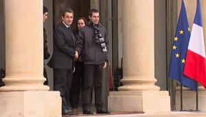 Gilad Shalit a été reçu mercredi 8 février 2012 à l'Elysée.