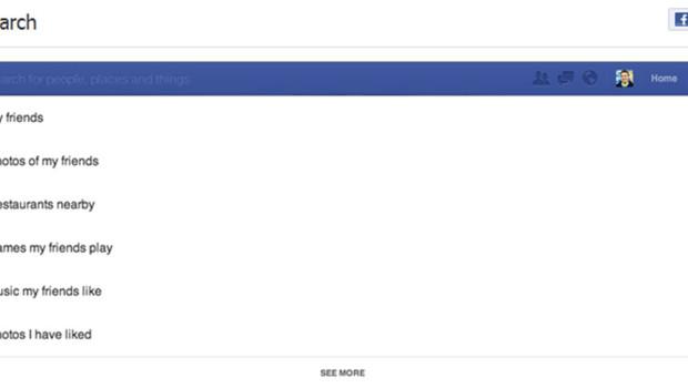 Graph Search, le moteur de recherche de Facebook, présenté le 5 janvier 2013