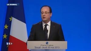 """Hollande en appelle aux """"forces vives"""" pour arrêter la hausse du chômage"""